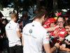 GP AUSTRALIA, 22.03.2018 - Marcus Ericsson (SUE) Sauber C37 e Charles Leclerc (MON) Sauber C37