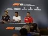 GP AUSTRALIA, 22.03.2018 - Conferenza Stampa, Daniel Ricciardo (AUS) Red Bull Racing RB14, Lewis Hamilton (GBR) Mercedes AMG F1 W09 e Sebastian Vettel (GER) Ferrari SF71H