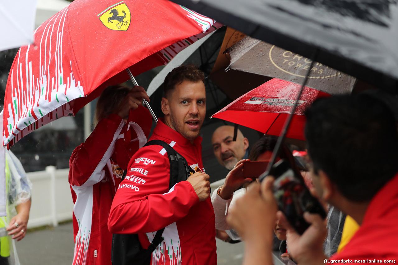 GP AUSTRALIA, 24.03.2018 - Sebastian Vettel (GER) Ferrari SF71H