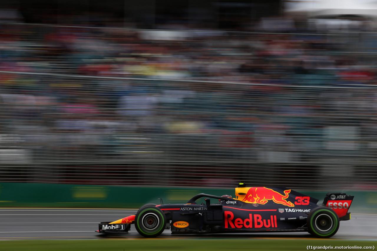 GP AUSTRALIA, 24.03.2018 - Prove Libere 3, Max Verstappen (NED) Red Bull Racing RB14