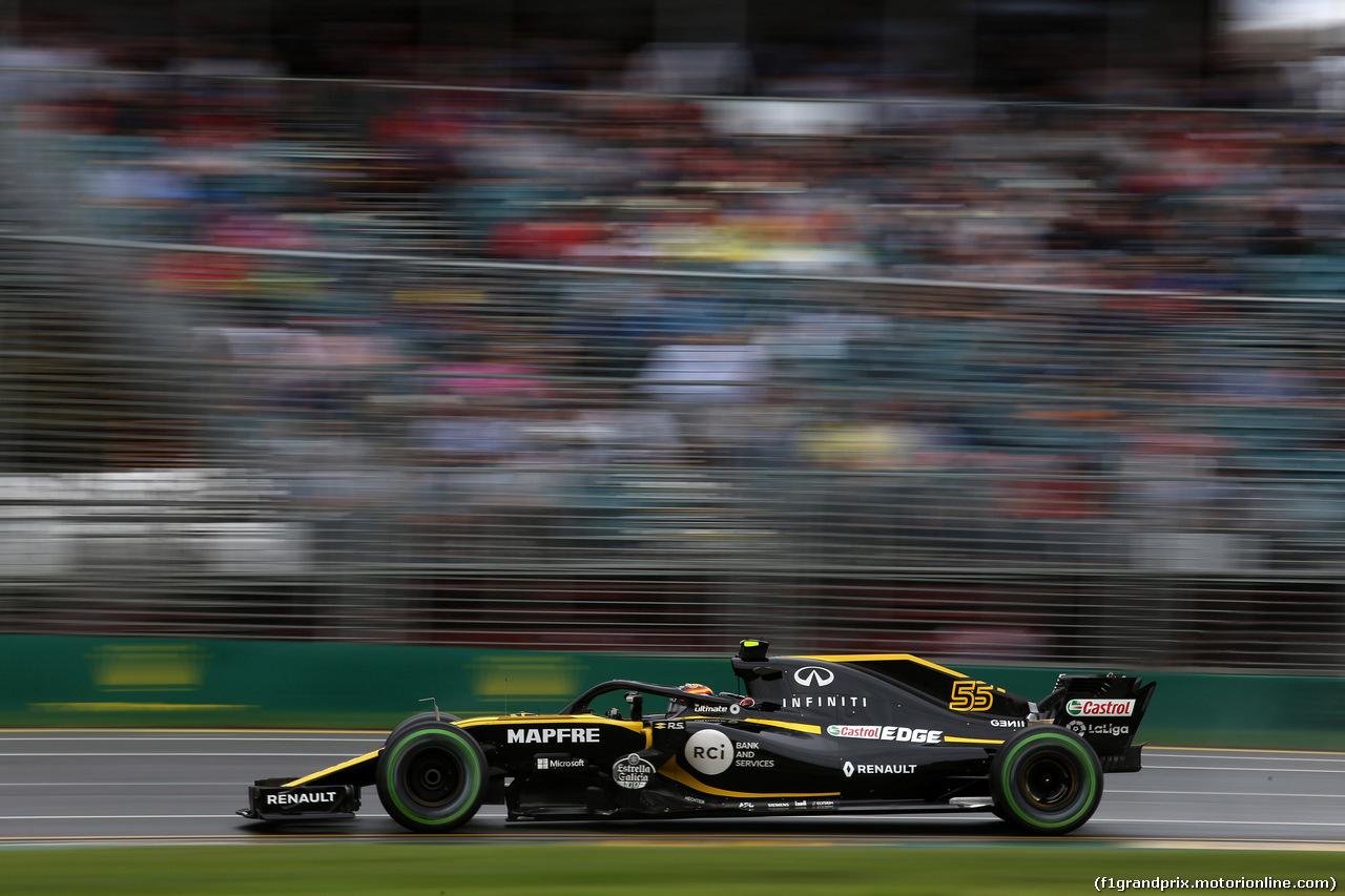 GP AUSTRALIA, 24.03.2018 - Prove Libere 3, Carlos Sainz Jr (ESP) Renault Sport F1 Team RS18