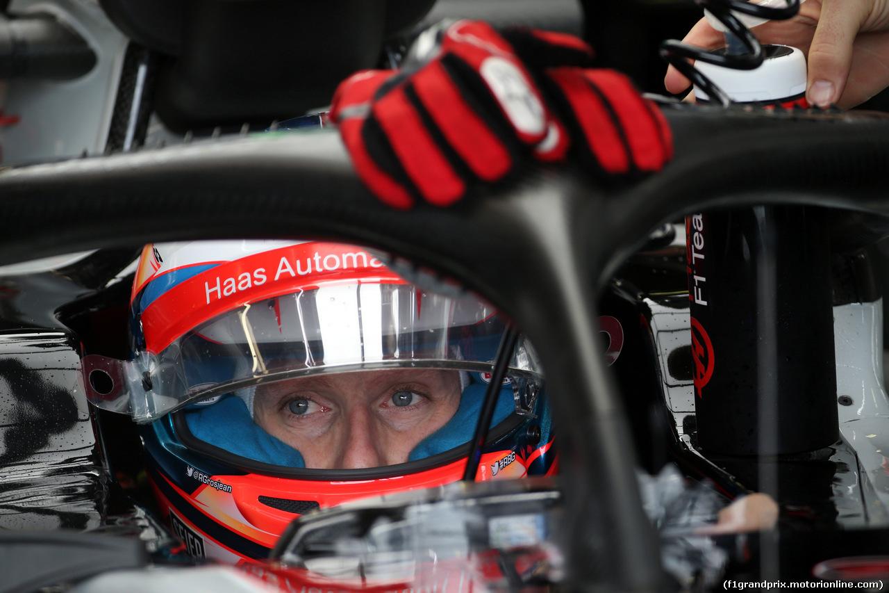 GP AUSTRALIA, 24.03.2018 - Prove Libere 3, Romain Grosjean (FRA) Haas F1 Team VF-18