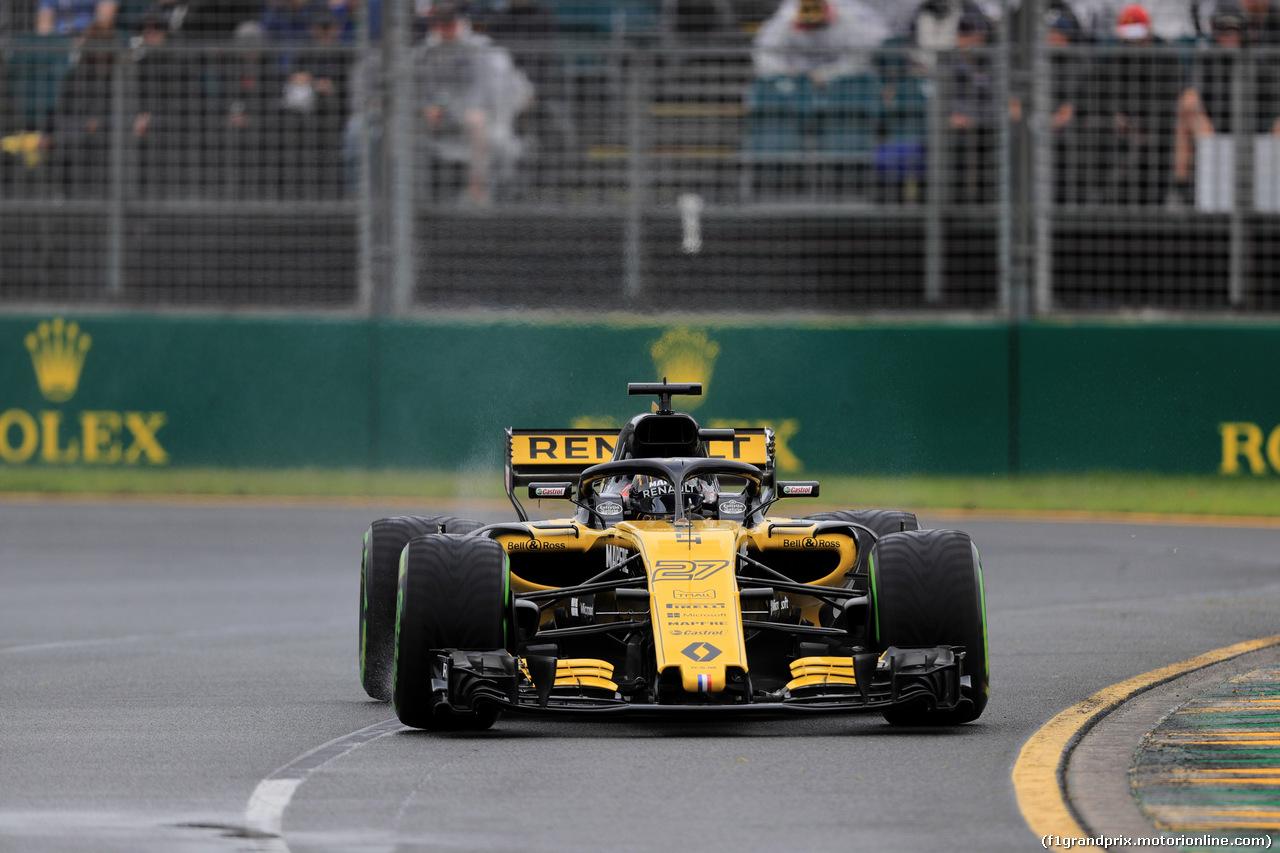 GP AUSTRALIA, 24.03.2018 - Prove Libere 3, Nico Hulkenberg (GER) Renault Sport F1 Team RS18