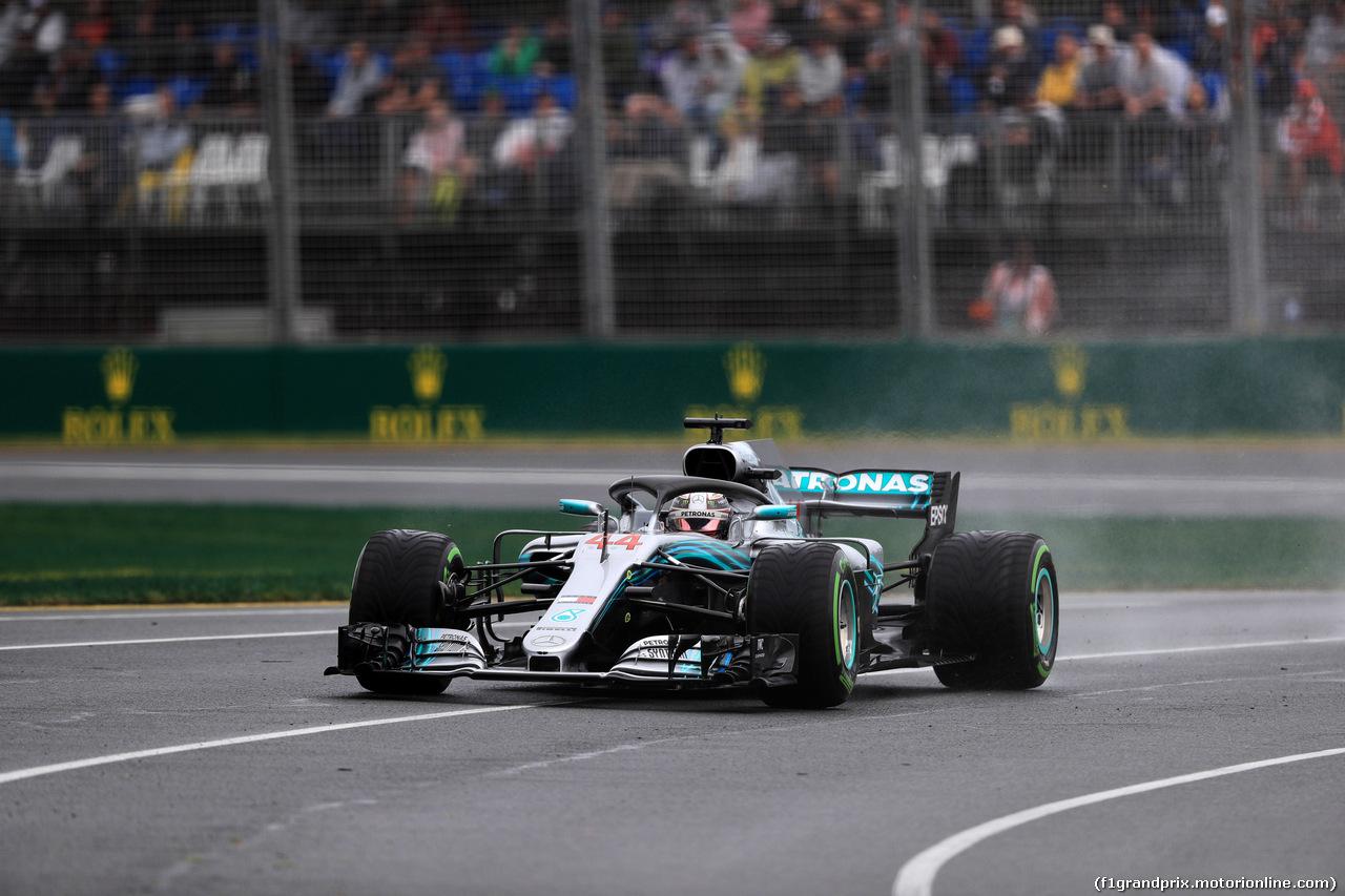 GP AUSTRALIA, 24.03.2018 - Prove Libere 3, Lewis Hamilton (GBR) Mercedes AMG F1 W09