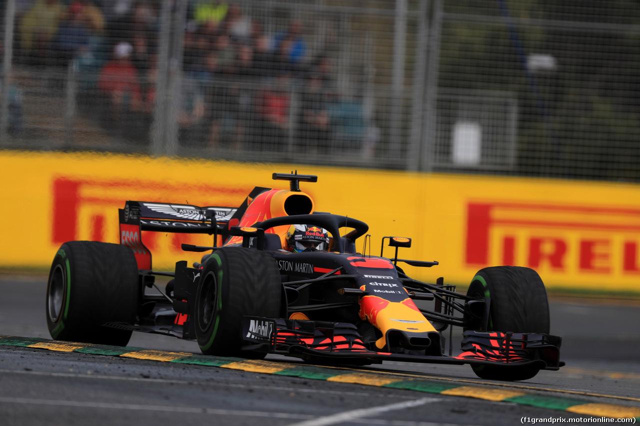 GP AUSTRALIA, 24.03.2018 - Prove Libere 3, Daniel Ricciardo (AUS) Red Bull Racing RB14