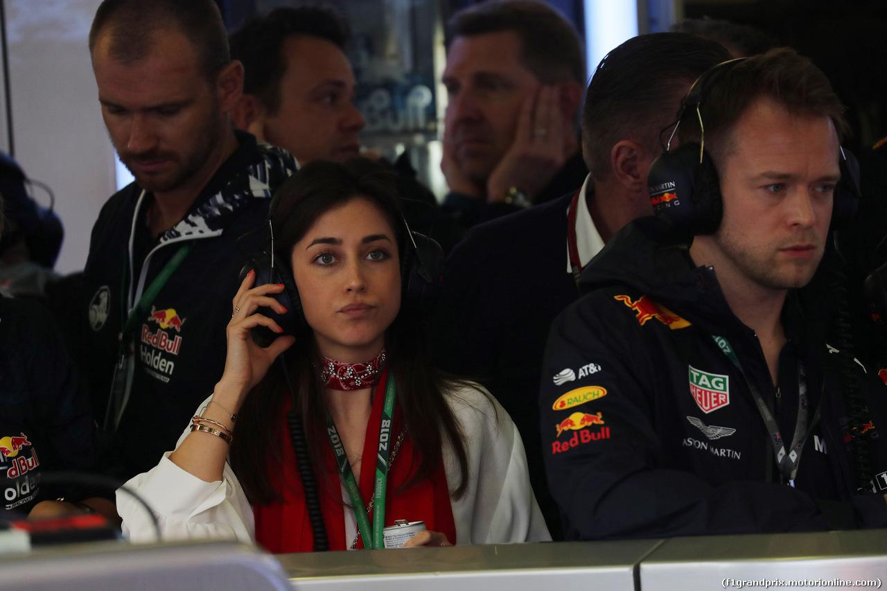 GP AUSTRALIA, 24.03.2018 - Prove Libere 3, Dilara Sanlik (GER) girlfriend of Max Verstappen (NED)