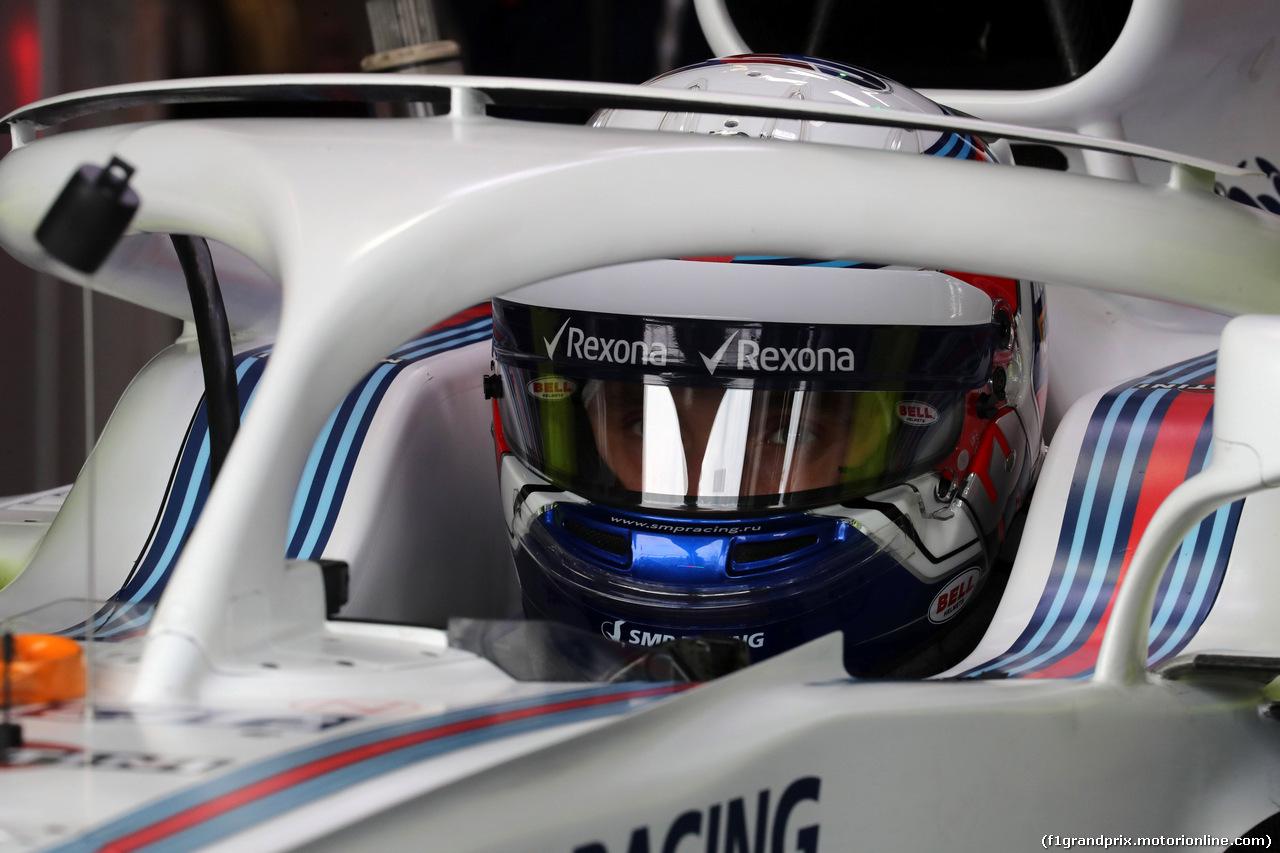 GP AUSTRALIA, 24.03.2018 - Prove Libere 3, Sergey Sirotkin (RUS) Williams FW41