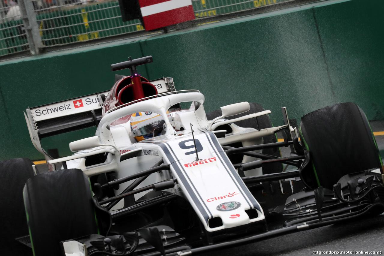 GP AUSTRALIA, 24.03.2018 - Prove Libere 3, Marcus Ericsson (SUE) Sauber C37