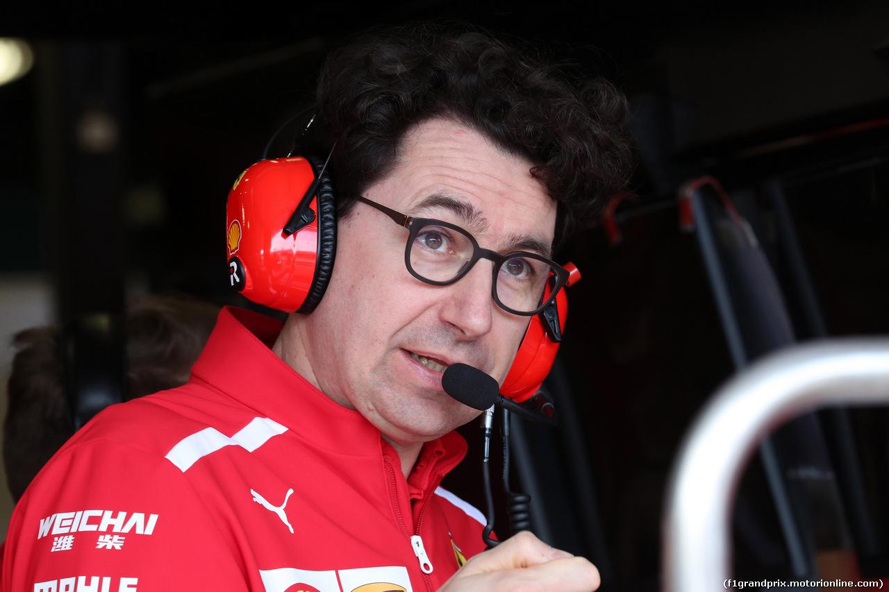 GP AUSTRALIA, 24.03.2018 - Prove Libere 3, Mattia Binotto (ITA) Chief Technical Officer, Ferrari