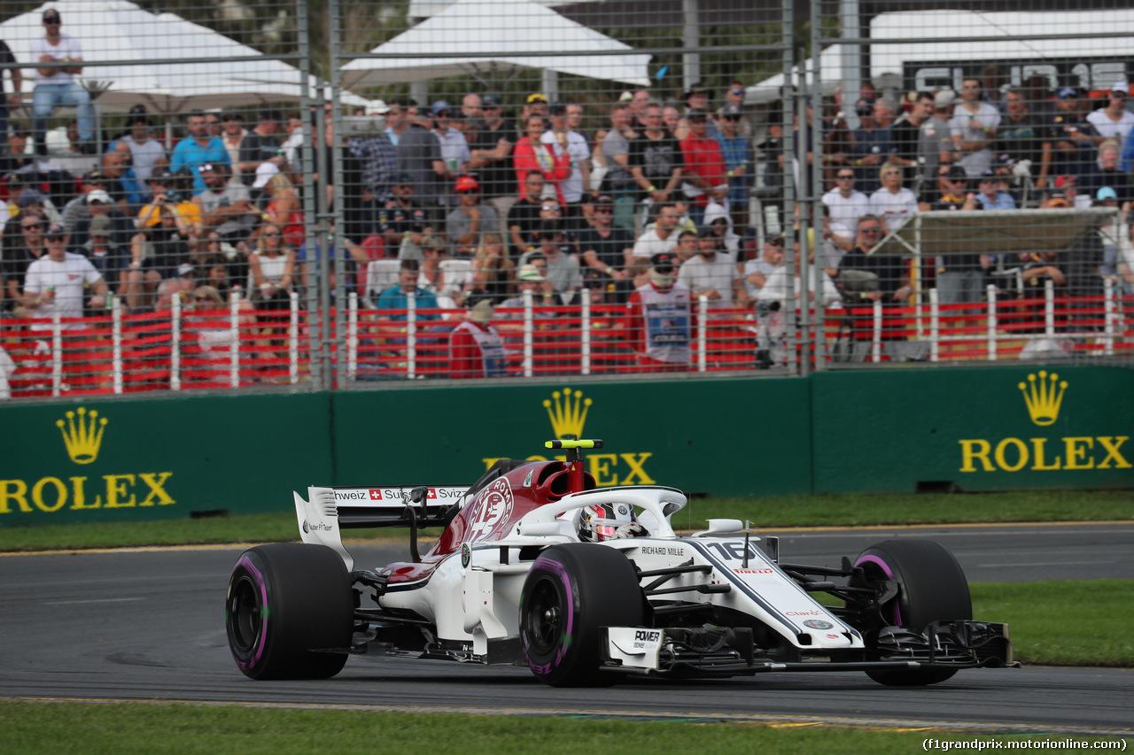 GP AUSTRALIA, 24.03.2018 - Qualifiche, Charles Leclerc (MON) Sauber C37
