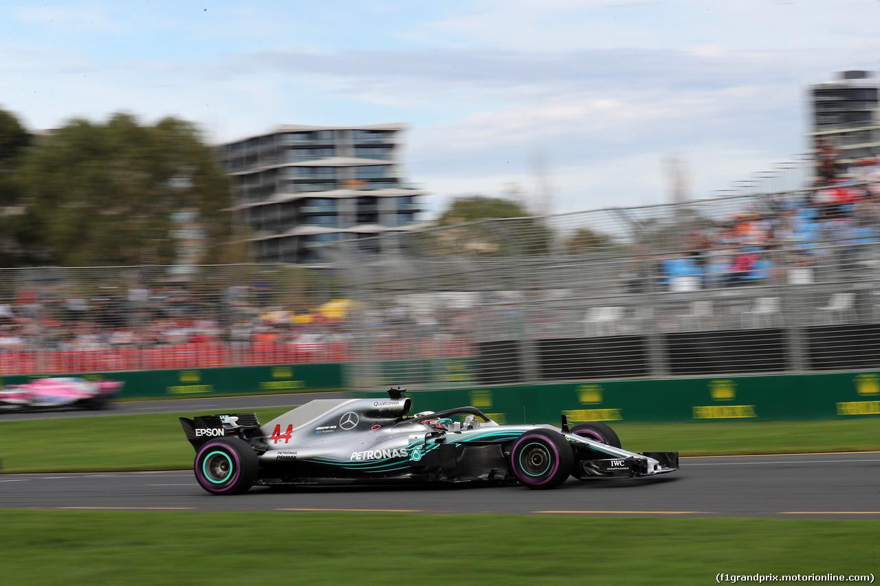 GP AUSTRALIA, 24.03.2018 - Qualifiche, Lewis Hamilton (GBR) Mercedes AMG F1 W09