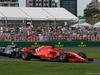 GP AUSTRALIA, 24.03.2018 - Qualifiche, Valtteri Bottas (FIN) Mercedes AMG F1 W09 e Sebastian Vettel (GER) Ferrari SF71H