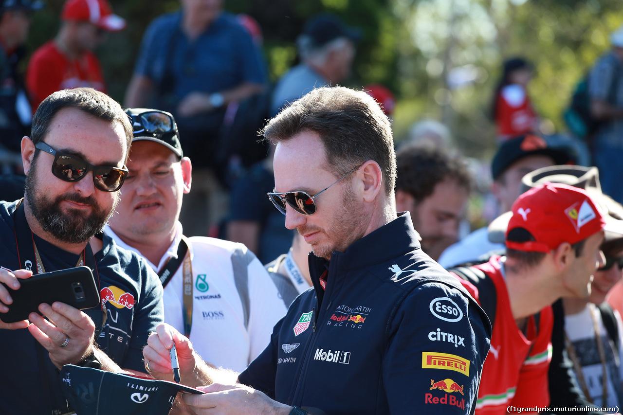 GP AUSTRALIA, 23.03.2018 - Christian Horner (GBR), Red Bull Racing, Sporting Director