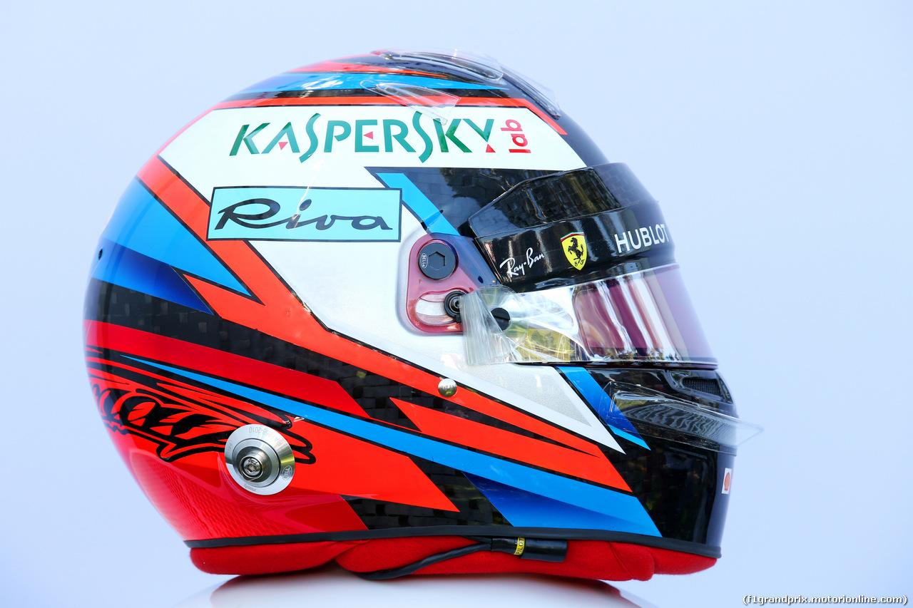 GP AUSTRALIA, 23.03.2018 - The helmet of Kimi Raikkonen (FIN) Ferrari SF71H