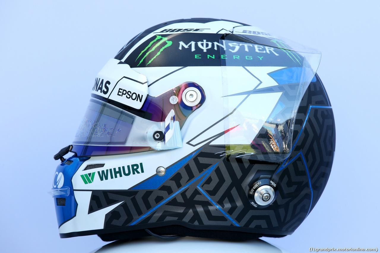 GP AUSTRALIA, 23.03.2018 - The helmet of Valtteri Bottas (FIN) Mercedes AMG F1 W09