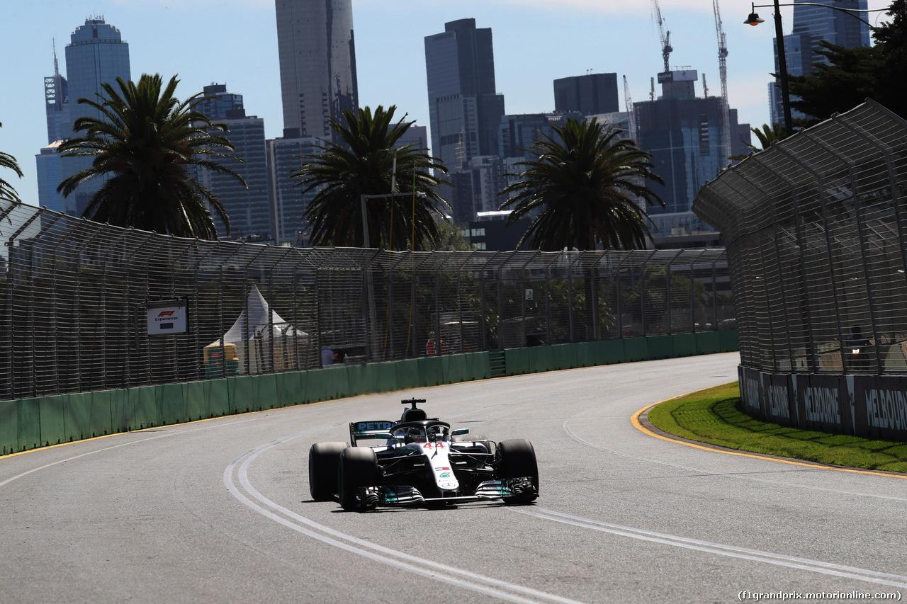 GP AUSTRALIA, 23.03.2018 - Prove Libere 1, Lewis Hamilton (GBR) Mercedes AMG F1 W09