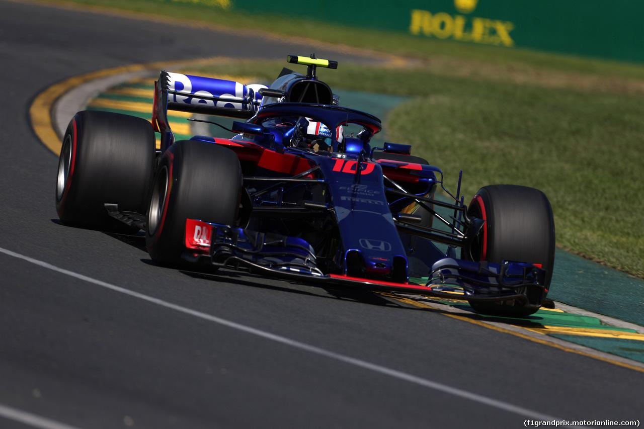 GP AUSTRALIA, 23.03.2018 - Prove Libere 1, Pierre Gasly (FRA) Scuderia Toro Rosso STR13