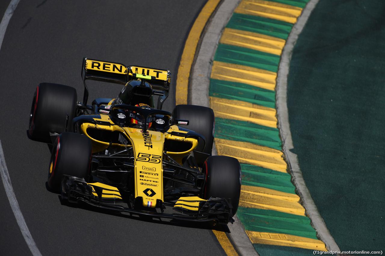 GP AUSTRALIA, 23.03.2018 - Prove Libere 1, Carlos Sainz Jr (ESP) Renault Sport F1 Team RS18