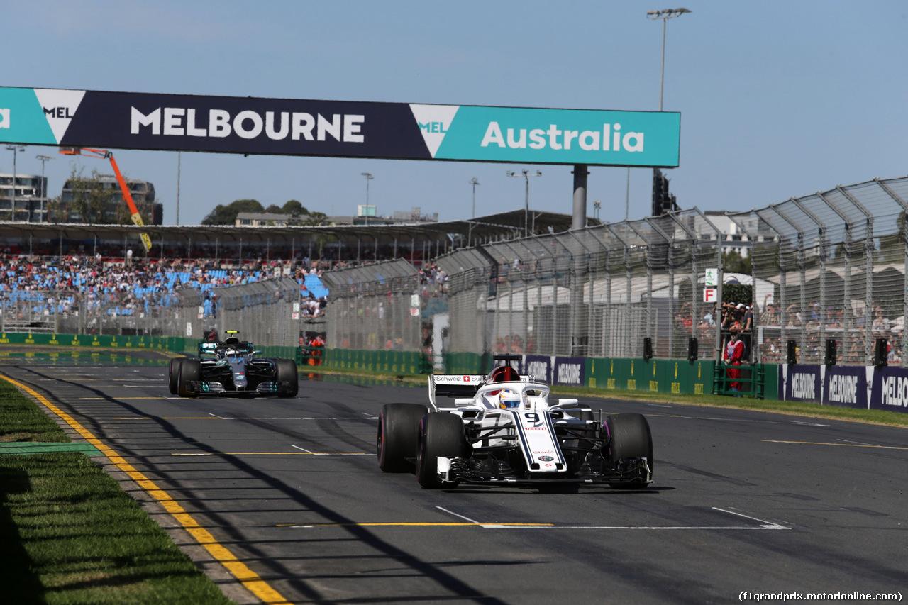 GP AUSTRALIA, 23.03.2018 - Prove Libere 1, Marcus Ericsson (SUE) Sauber C37