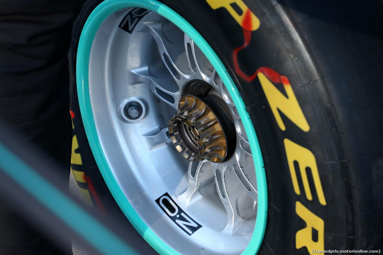 GP AUSTRALIA, 23.03.2018 - Prove Libere 1, OZ Wheel
