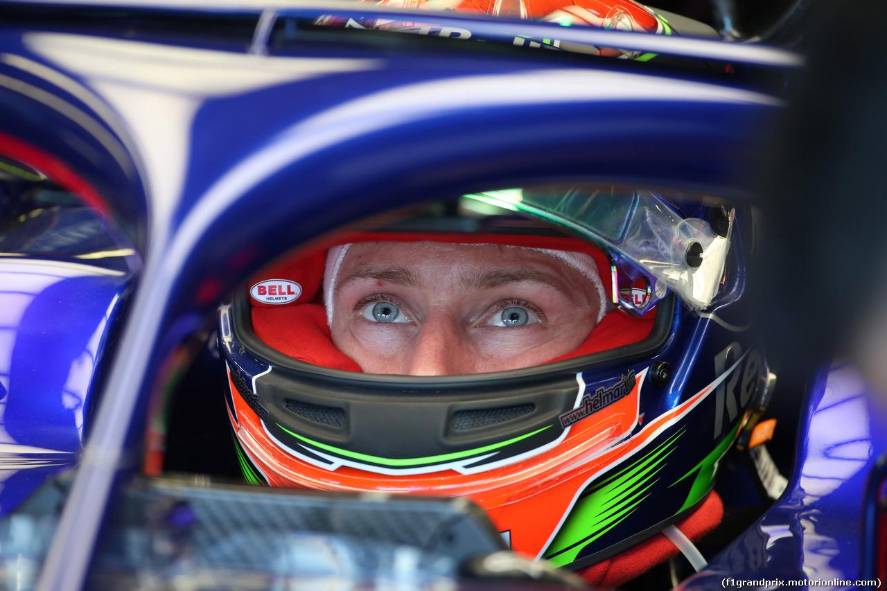 GP AUSTRALIA, 23.03.2018 - Prove Libere 1, Brendon Hartley (NZL) Scuderia Toro Rosso STR13