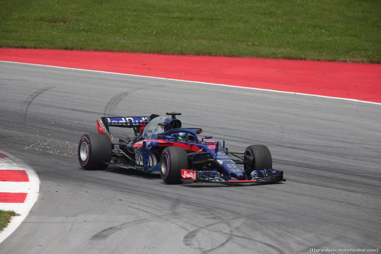 GP AUSTRIA, 30.06.2018- Qualifiche, Brendon Hartley (FRA) Scuderia Toro Rosso STR13