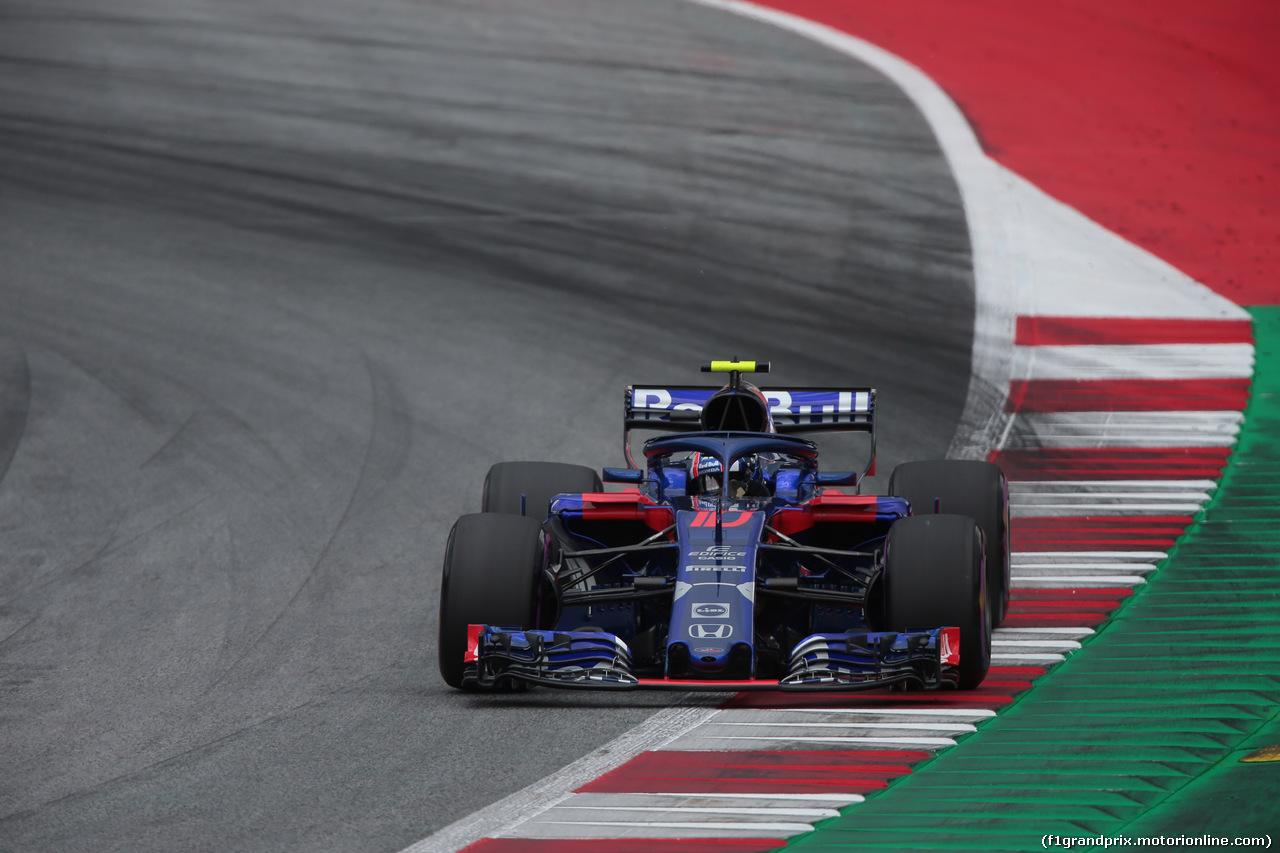 GP AUSTRIA, 30.06.2018- Qualifiche, Pierre Gasly (FRA) Scuderia Toro Rosso STR13