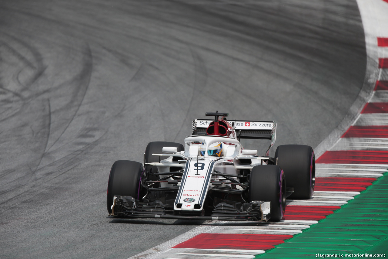 GP AUSTRIA, 30.06.2018- Qualifiche,Marcus Ericsson (SUE) Alfa Romeo Sauber C37