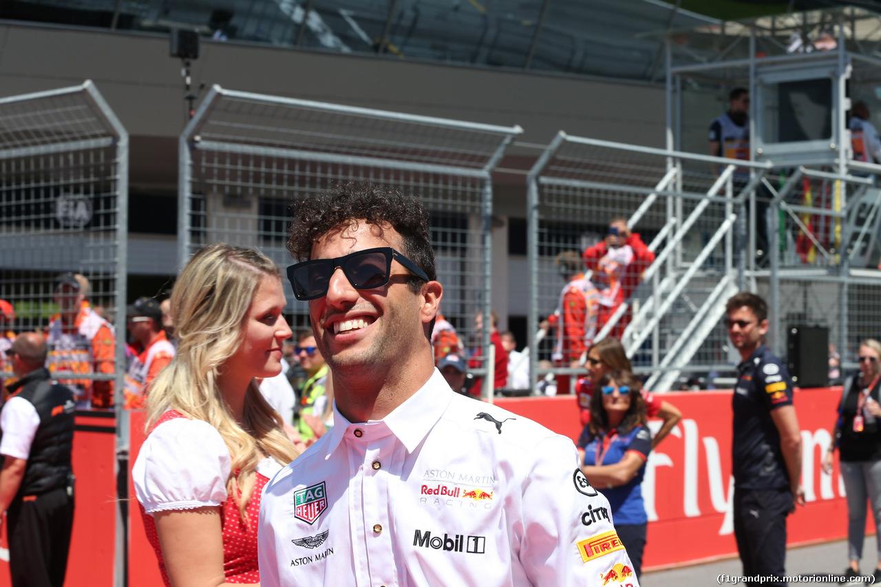 GP AUSTRIA, 01.07.2018- Daniel Ricciardo (AUS) Red Bull Racing RB14