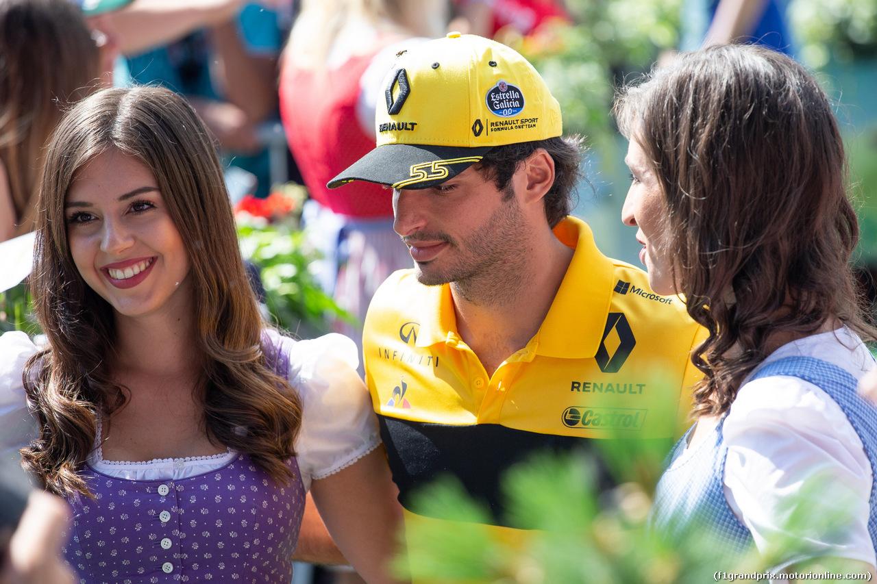 GP AUSTRIA, 01.07.2018- Carlos Sainz Jr (ESP) Renault Sport F1 Team RS18
