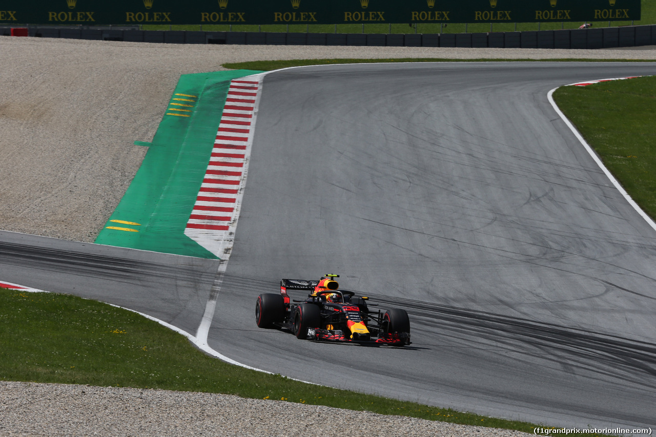 GP AUSTRIA, 01.07.2018- race, Max Verstappen (NED) Red Bull Racing RB14