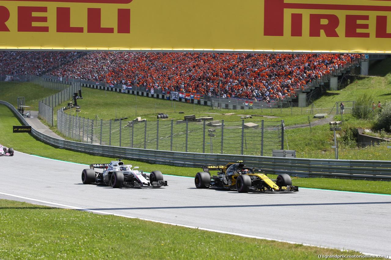 GP AUSTRIA, 01.07.2018- race, Carlos Sainz Jr (ESP) Renault Sport F1 Team RS18