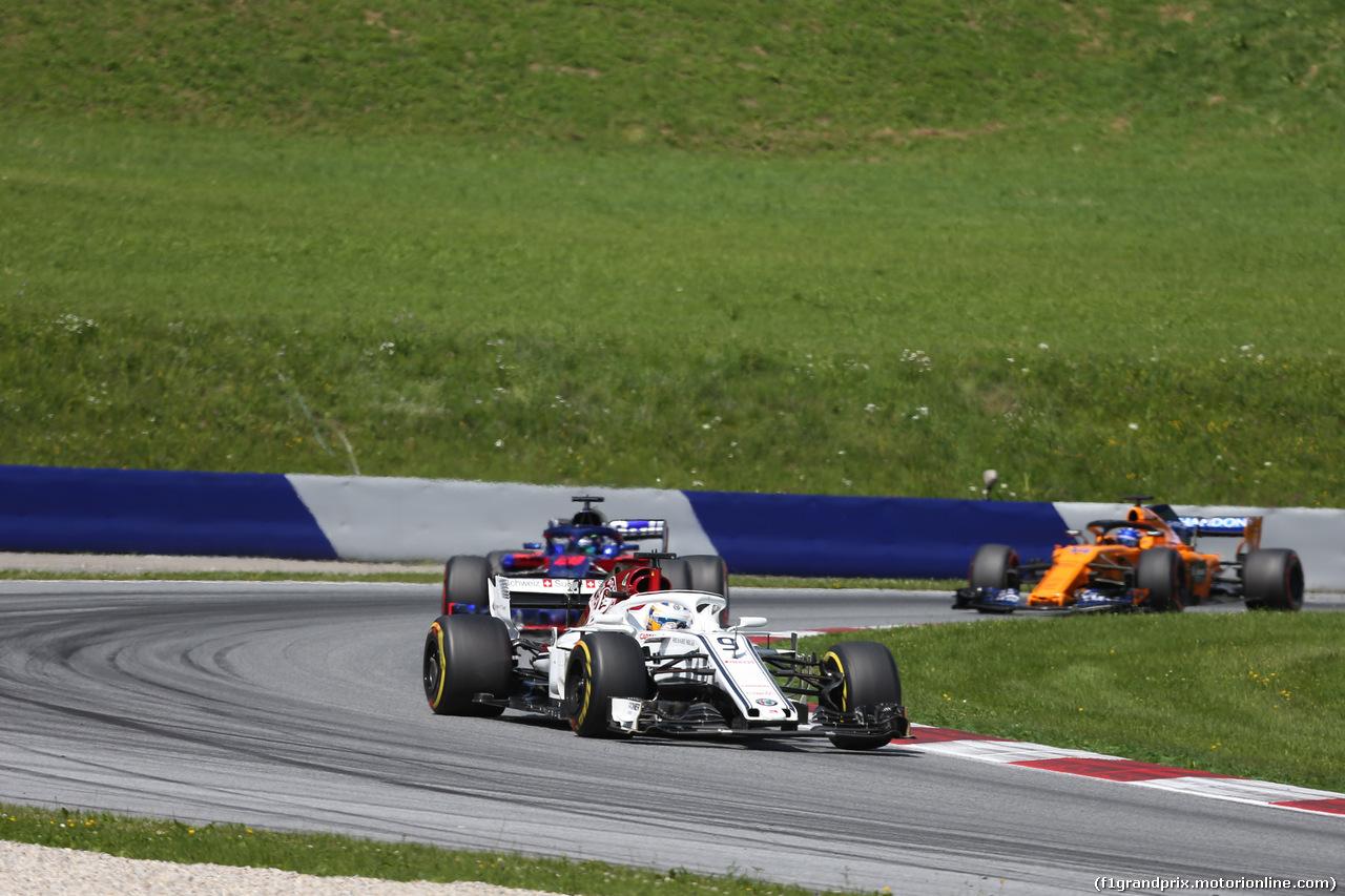 GP AUSTRIA, 01.07.2018- race, Marcus Ericsson (SUE) Alfa Romeo Sauber C37