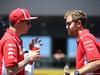 GP AUSTRIA, 01.07.2018- Sebastian Vettel (GER) Ferrari SF71H e Kimi Raikkonen (FIN) Ferrari SF71H
