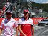 GP AUSTRIA, 01.07.2018- Marcus Ericsson (SUE) Alfa Romeo Sauber C37 e Sergio Perez (MEX) Sahara Force India F1 VJM11
