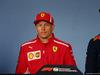 GP AUSTRIA, 28.06.2018- Giovedi' Official Fia press conference, Kimi Raikkonen (FIN) Ferrari SF71H