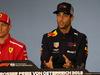 GP AUSTRIA, 28.06.2018- Giovedi' Official Fia press conference, Daniel Ricciardo (AUS) Red Bull Racing RB14 e Kimi Raikkonen (FIN) Ferrari SF71H
