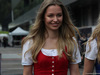 GP AUSTRIA, 28.06.2018- Ragazzas in the paddock in Typical Tyrolean dress