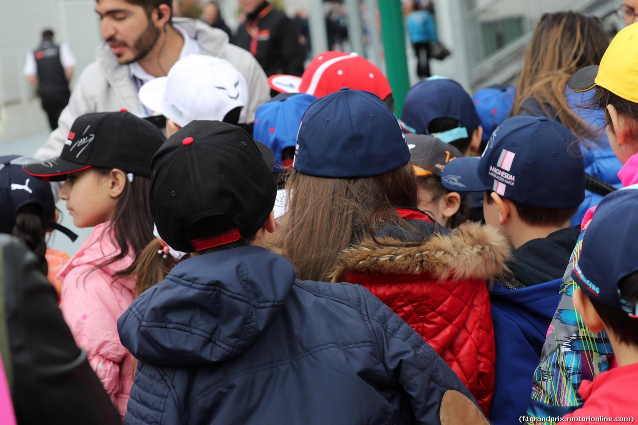 GP AZERBAIJAN, 29.04.2018 - Kids