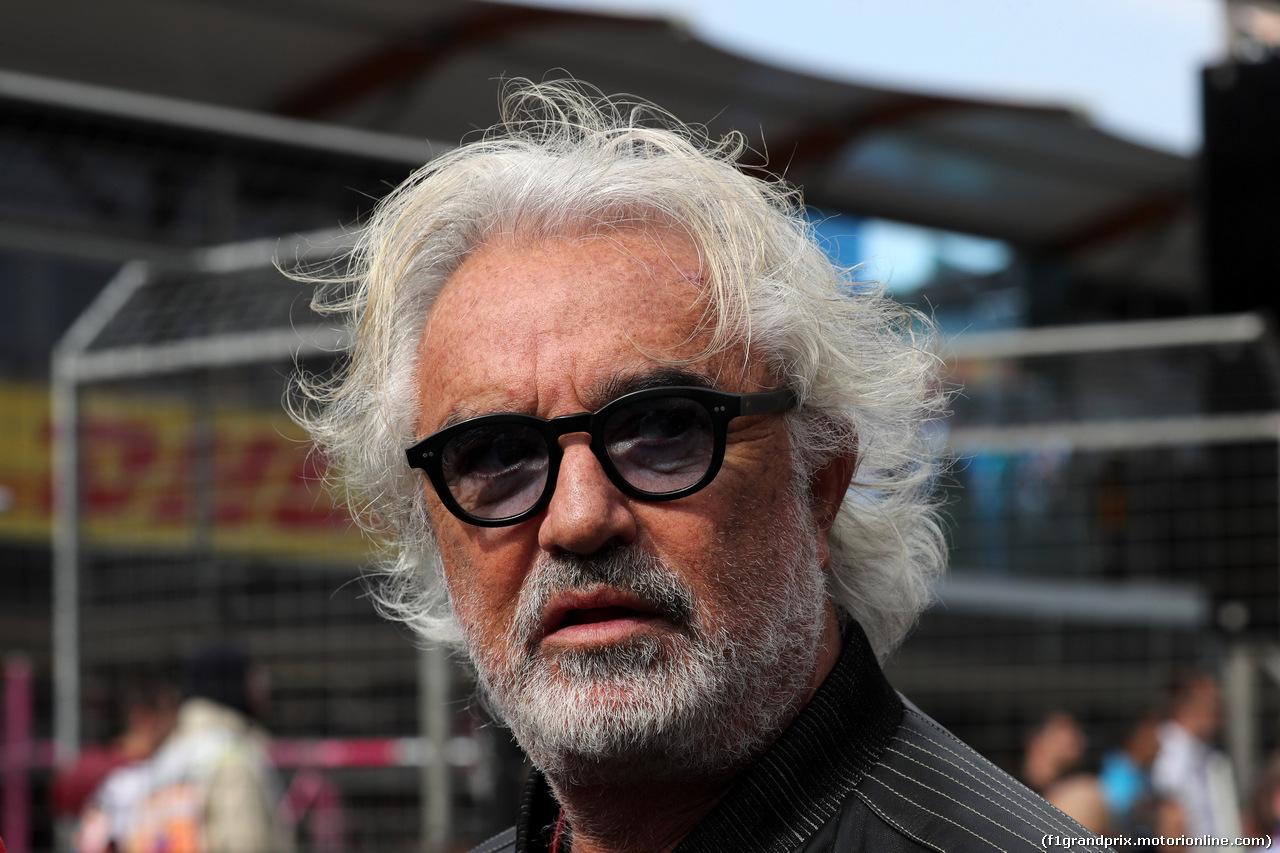 GP AZERBAIJAN, 29.04.2018 - Gara, Flavio Briatore (ITA)