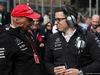 GP AZERBAIJAN, 29.04.2018 - Gara, Nikki Lauda (AU), Mercedes e Toto Wolff (GER) Mercedes AMG F1 Shareholder e Executive Director