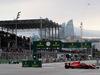 GP AZERBAIJAN, 29.04.2018 - Gara, Sebastian Vettel (GER) Ferrari SF71H davanti a Lewis Hamilton (GBR) Mercedes AMG F1 W09
