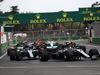 GP AZERBAIJAN, 29.04.2018 - Gara, Lewis Hamilton (GBR) Mercedes AMG F1 W09 davanti a Valtteri Bottas (FIN) Mercedes AMG F1 W09