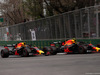 GP AZERBAIJAN, 29.04.2018 - Gara, Daniel Ricciardo (AUS) Red Bull Racing RB14 e Max Verstappen (NED) Red Bull Racing RB14