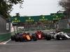 GP AZERBAIJAN, 29.04.2018 - Gara, Stoffel Vandoorne (BEL) McLaren MCL33, Kimi Raikkonen (FIN) Ferrari SF71H e Charles Leclerc (MON) Sauber C37
