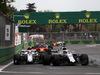 GP AZERBAIJAN, 29.04.2018 - Gara, Lance Stroll (CDN) Williams FW41 davanti a Charles Leclerc (MON) Sauber C37
