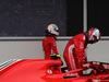 GP AZERBAIJAN, 29.04.2018 - Gara, Sebastian Vettel (GER) Ferrari SF71H e 2nd place Kimi Raikkonen (FIN) Ferrari SF71H