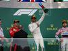 GP AZERBAIJAN, 29.04.2018 - Gara, 1st place Lewis Hamilton (GBR) Mercedes AMG F1 W09, 2nd place Kimi Raikkonen (FIN) Ferrari SF71H e 3rd place Sergio Perez (MEX) Sahara Force India F1 VJM011