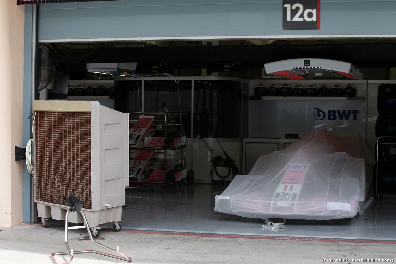 GP BAHRAIN, 08.04.2018 - Sergio Perez (MEX) Sahara Force India F1 VJM011