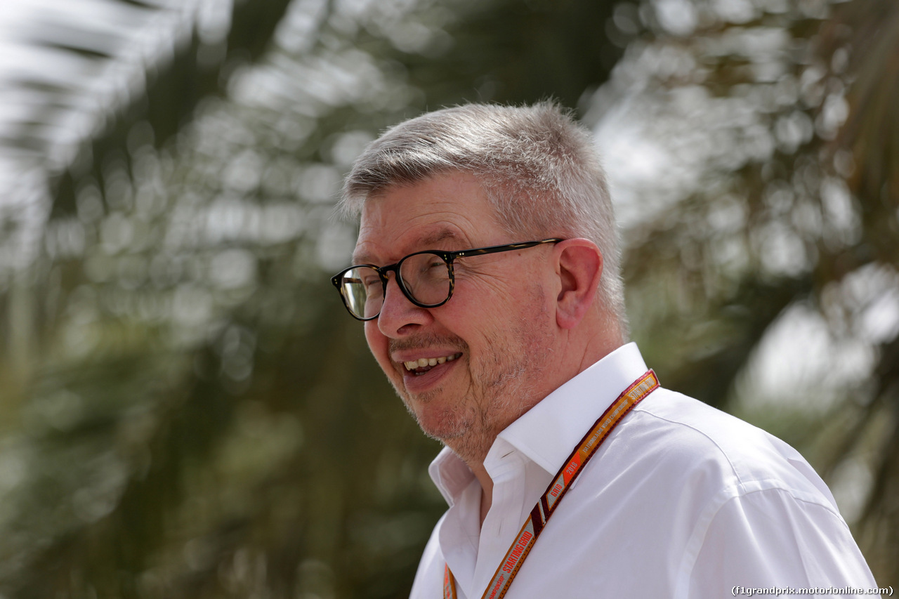 GP BAHRAIN, 08.04.2018 - Ross Brawn (GBR) Formula One Managing Director of Motorsports